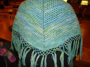 My beaded Shawl